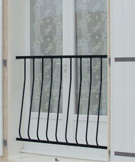 garde corps galb simple ser pug ferronnerie. Black Bedroom Furniture Sets. Home Design Ideas