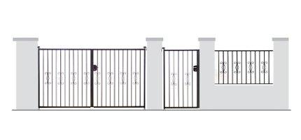 Portail, portillon et clôture PRIMA